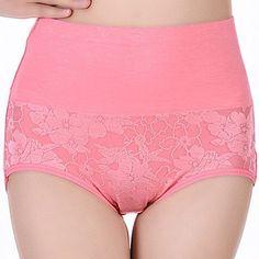 Underwear Women Fashion Jacquard Briefs Sexy Panties High Waist Abdomen Control Breathable Seamless Lingerie Bragas Calcinha