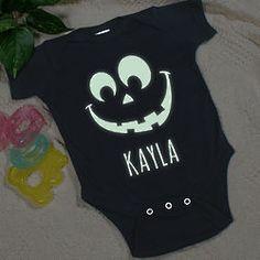 Halloween Glow in the Dark Infant Creeper