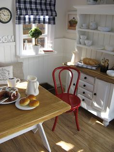 Cottage in a bubble: kitchen