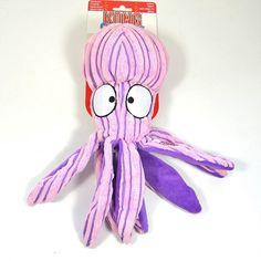 KONG Cuteseas Octopus - L - Ein kuscheliger Meeresbewohner