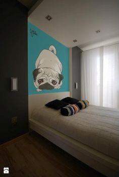 Sypialnia - Styl Minimalistyczny - Fabryka Wnętrz Alina Szymańska