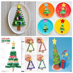 manualidades-navidad-niños Christmas Activities For Kids, Winter Activities, Toddler Activities, Crafts For Kids, Toy Craft, Craft Box, Paper Toys, Paper Crafts, Merry Christmas