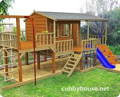 Panda Pack Kids Gym Cubbyhouse....gloriousness to keep kids busy