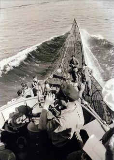 U-100 (Type VIIB) on patrol.