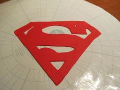 Superman Logo Fondant