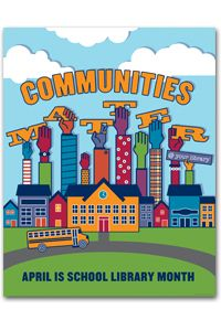 School Libraries month, April 2013. A celebration of school librarians and the essential role that strong school library programs play in education.