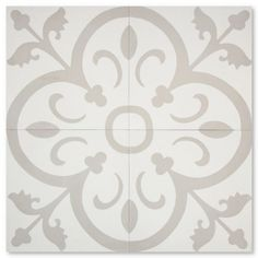 Find it at the Foundary - Normandy Handmade 8 x 8 Cement Tile - 6 Boxes