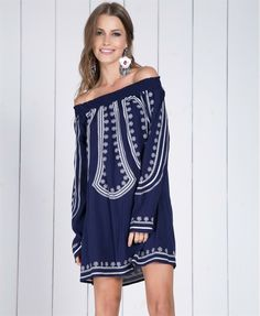 Vestido bordado print jules | Vestidos | mariahflor