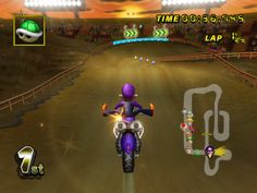 GCN Waluigi Stadium from Mario Kart Wii Mario Kart, Wii, Games, Gaming, Toys, Plays, Spelling, Game