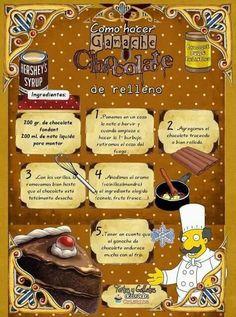COMO HACER GARNACHE DE CHOCOLATE DE RELLENO