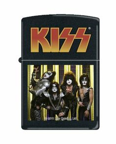 Zippo Kiss Black Matte Lighter by Zippo. $29.95. Brand New In Box. Made in USA. Authentic Zippo Lighter
