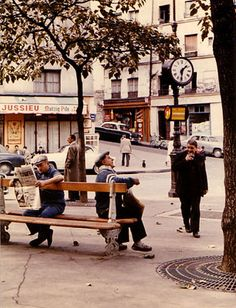 Place Jussieu, 1957, photo by Peter Cornelius