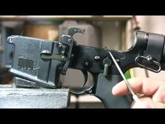 How does a Machine Gun Work, Full Auto AR15 Explained M4, M16 - YouTube