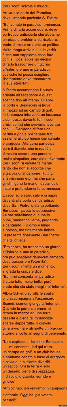 Berlusconi scivola e muore. | BESTI.it - immagini divertenti, foto, barzellette, video