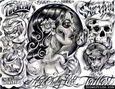 My Only Love Tattoo Flash by BOOG STAR