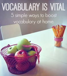 Vocabulary is Vital: 5 Simple Ways to Boost Vocabulary at Home   Scholastic…