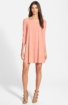 Leith Crepe Trapeze Dress (Online Only) available at #Nordstrom