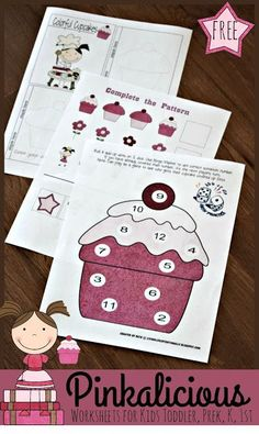 2936 best FREE Worksheets for Kids        images on Pinterest   Fall     FREE Pinkalicious Worksheets for Kids
