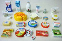 Miniature - Re-ment - Mini Dairy Products   Flickr - Photo Sharing!