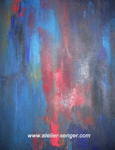 Blazing Flame, 40 x 50 cm. Please click here: www.art-senger.com #painting #art #artwork #flame