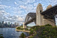 Sydney Harbour Bridge in HDR - Sydney, Australia Sydney Australia, Sydney Harbour Bridge, Hdr, Spaces, Explore, Travel, Viajes, Exploring, Trips