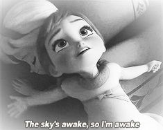 When Anna was complaining about not being able to sleep: | 18 Reactions We All Had While Watching FROZEN