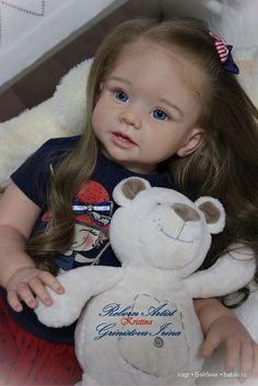 Малышка Крис. Кукла реборн Гринистовой Ирины / Куклы Реборн Беби - фото…