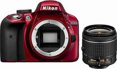 Nikon D3300 Kit AF-P 18-55 VR Spiegelreflex Kamera, NIKKOR AF-P 18-55 mm VR Zoom, 24,2 Megapixel