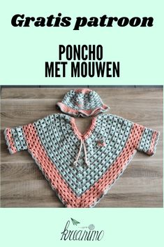 Pattern # for # Sleeves # # Poncho Hook # # # Sleeves # # Toddler # # Toddler # – kinder mode Crochet Stitches Free, Crochet Poncho Patterns, Crochet Shawl, Baby Patterns, Free Crochet, Crochet Bebe, Crochet For Kids, Poncho With Sleeves, Crochet Clothes