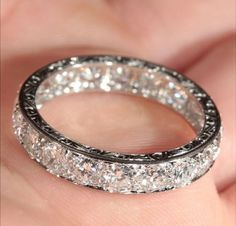 I dream of that man putting this ring on my finger.