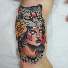 Done by Tony Donaire, tattoo artist at Blue Cat Tattoo Studio (Barcelona), Spain TattooStage.com - Rate & review your tattoo artist. #tattoo #tattoos #ink