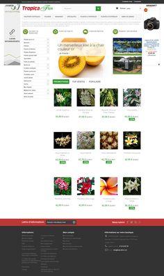 Boutique PrestaShop Plantes