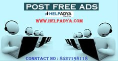 Post Free Ads   Looking for some budget packages toPost Free Ads, India? Help Adya for best premium packages ad posting in Delhi, we advertise your products and services across all major social media platforms! Their ads for selling and buying of products and services ensure that your product receives best response and hit the target audiences! So what are you waiting for? Visit nowwww.helpadya.comor call at 8527198118. Post Ad, Post Free Ads, Target Audience, Platforms, No Response, Budgeting, Waiting, Advertising, Social Media