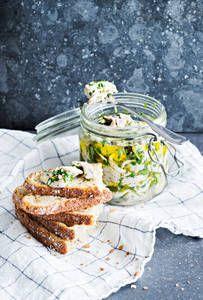 Sitruuna-valkosipulimarinoidut silakat |K-Ruoka Food, Essen, Meals, Yemek, Eten