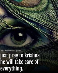 Krishna Mantra, Radha Krishna Love Quotes, Radha Krishna Images, Cute Krishna, Lord Krishna Images, Krishna Radha, Krishna Photos, Shree Krishna Wallpapers, Geeta Quotes