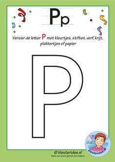 Preschool and Kindergarten Alphabet & Letters Worksheets Letter P Activities, Letter Worksheets, Preschool Activities, Cute Images For Wallpaper, Letters For Kids, Jolly Phonics, Learn English, Kids Learning, Kindergarten