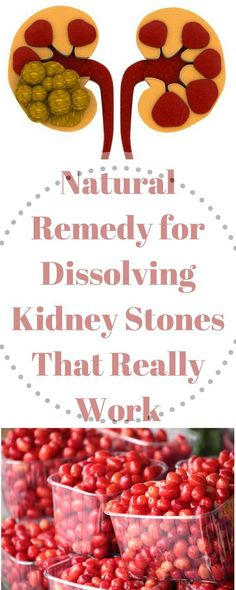 Natural Remedy for Dissolving Kidney Stones That Really Work