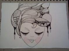 Autor: Jair Zaragoza Técnica: Tinta china sobre papel