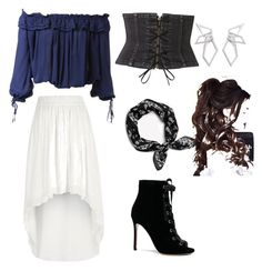 """""""Untitled #16"""" by kacy17 on Polyvore featuring Dsquared2, River Island, Witchery, Gianvito Rossi and W. Britt"""
