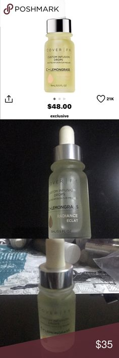 Cover fx radiance custom drops Brand new never used never opened cover fx Makeup Face Primer