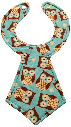 Designer neck tie bibs look super cute on baby! They make great gifts that are functional.