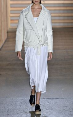 Tibi Spring/Summer 2015 Trunkshow Look 3 on Moda Operandi