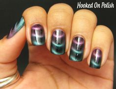 Really like this magnetic gradient by Hooked On Polish.