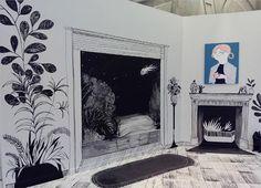 """En la exposicion """"Play-House"""" de @coco_escribano, en el Espacio Tránsito del Centro de Historias hasta el 7 de Febrero"""