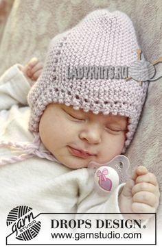 детская шапочка вязаная спицами