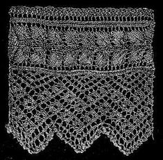 Edgings Knitting Stitches : 1000+ images about {stitches} edgings on Pinterest Crochet edgings, Knittin...