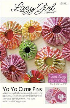 Yo Yo Pattern New Pattern: Yo Yo Cutie Pins are Pin-tastic!