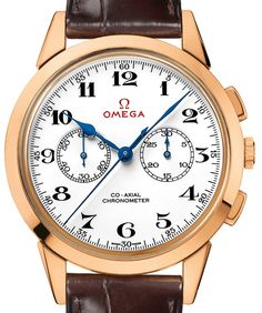 522.53.39.50.04.001 Omega Olympic Official Timekeeper - швейцарские мужские наручные часы - золотые, белые