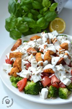 Caprese Salad, Cobb Salad, Feta, Catering, Grilling, Food And Drink, Lunch, Cheese, Recipes