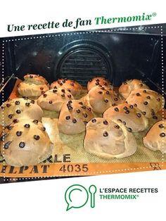 Brioche façon doo-wap par daph82. Une recette de fan à retrouver dans la catégorie Pains & Viennoiseries sur www.espace-recettes.fr, de Thermomix®.